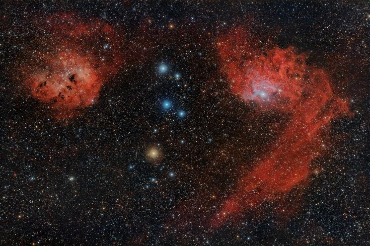 IC405 i IC410 - Ernesto Arredondo
